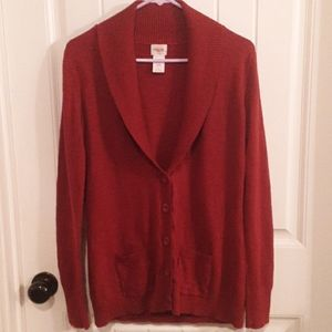 JUNIOR'S CARDIGAN/SIZE LARGE/MOSSIMO BRAND